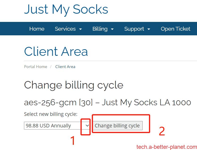 JustMySocks-change-billing-cycle